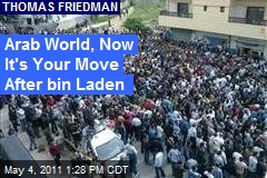 Arab World, Now It's Your Move After bin Laden