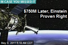$750M Later, Einstein Proven Right