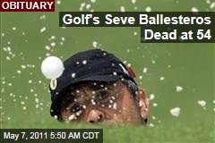 Seve Ballesteros Dies: Golf Great Succumbs to Brain Cancer