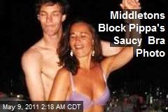 Middletons Block Pippa's Saucy Bra Photo