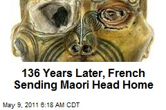 French Sending Maori Head Home
