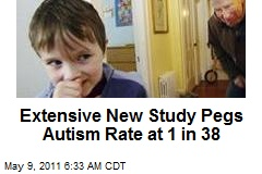 Extensive New Study Pegs Autism Rate at 1 in 38