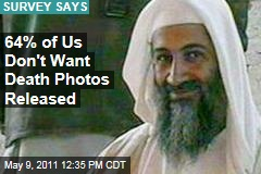 Osama bin Laden Death Photos: Survey Shows Most Americans Don't Want Them Released