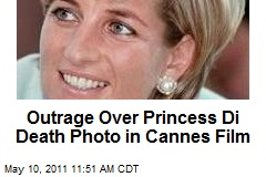 Outrage Over Princess Di Death Photo in Cannes Film