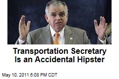 Treasury Secretary Ray Lahood Wants to Protect Bicyclists, Not Sure What Hipster Means