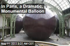 Anish Kapoor 'Leviathan': Giant Balloon Takes Over Paris's Grand Palais