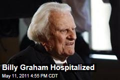 Billy Graham Hospitalized for Pneumonia