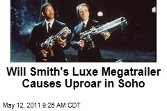 'Men in Black III': Will Smith's Luxury Megatrailer Booted From Soho