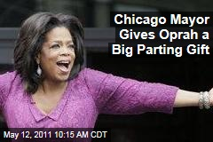 Chicago Mayor Richard Daley Gives Oprah Winfrey Big Parting Gift: 'Oprah Winfrey Way'