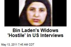Osama bin Laden's Widows 'Hostile' in US Interviews