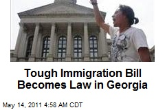 Tough Immigration Bill Becomes Law in Georgia
