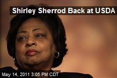Shirley Sherrod Back at USDA