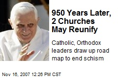 950 Years Later, 2 Churches May Reunify