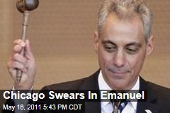 Rahm Emanuel Sworn In as Chicago Mayor