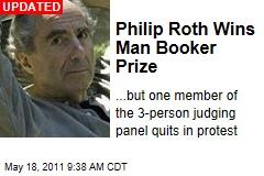 Philip Roth Wins Man Booker International Prize