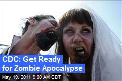 CDC: Get Ready for Zombie Apocalypse