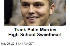Track Palin Marries High School Sweetheart