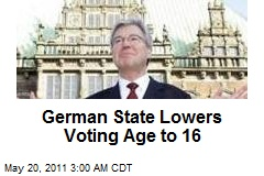 German State Lowers Voting Age to 16