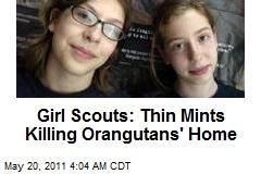 Green Girl Scouts Battle Troop Cookie Biz