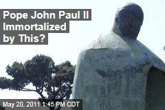 Vatican Hates New Bronze Statue of John Paul II