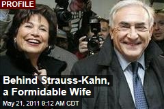 Anne Sinclair, Dominique Strauss-Kahn's Wife, Is a Formidable Force Standing By Her Man