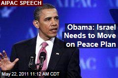 President Obama to AIPAC: Israel Needs to Move on Peace Plan