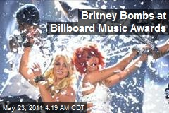 Britney Bombs on Billboard Music Awards
