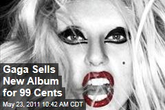 Lady Gaga, Amazon.com Sell New 'Born This Way' Album for $0.99