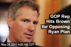 "Rep. Joe Walsh: Scott Brown 'Should Be Ashamed"" for Opposing Ryan Budget Plan"