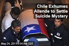 Chile Exhumes Salvador Allende's Body