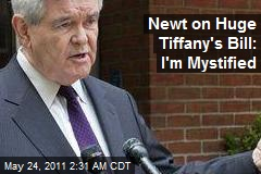 'Frugal' Newt Baffled by Focus on $500K Tiffany Bill