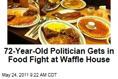 72-Year-Old Councilman John Williams Gets in Food Fight at Waffle House