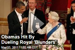 Video: President Obama's Toast to Queen Elizabeth Interrupted by Orchestra