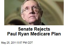 Senate Rejects Paul Ryan's Medicare Overhaul in Mostly Symbolic Vote