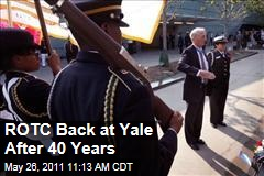 Navy ROTC Back at Yale After 40 Years