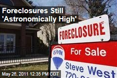 Foreclosures Still 'Astronomically High,' Accounting for 28% of All Home Sales