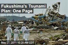 Fukushima Dai-ichi's Tsunami Plan: One-Page, Decade-Old Memo