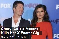 Britain's Sweetheart Cheryl Cole Dumped from X-Factor