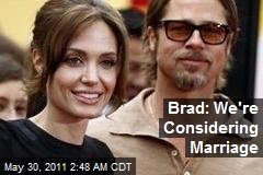 Brad: Kids Are Asking About Marriage
