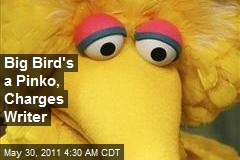 Big Bird's a Pinko, Charges Writer
