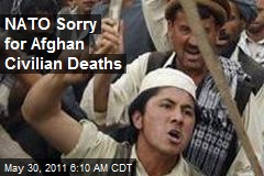 NATO Sorry for Afghan Civilian Deaths