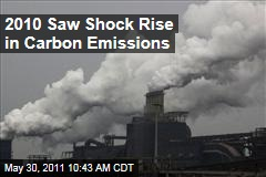 Climate Change: 2010 Saw Record Rise in Carbon Emissions