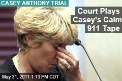 Casey Anthony Trial: Court Plays 911 Tape in Caylee's Death