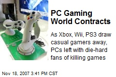 PC Gaming World Contracts