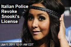Snooki Car Crash: Italian Police Revoke Snooki's License