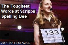 The Toughest Words at Scripps Spelling Bee