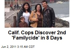 Calif. Cops Discover 2nd 'Familycide' in 8 Days