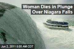 Woman Dies in Apparent Suicide Plunge Over Niagara Falls