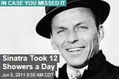 Frank Sinatra Took 12 Showers a Day, Widow Barbara Reveals