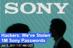 Sony Hacker Attack: LulzSec Claims to Have Stolen 1M Passwords